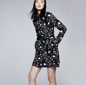 A.L.C. charles silk  mini dress- size 6